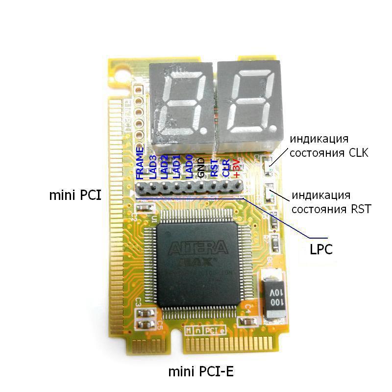 Схема - BM9221M - Устройство для ремонта и диагностики ноутбуков и ПК