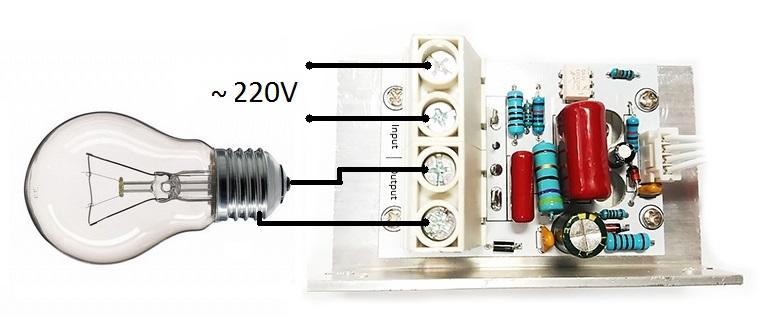 Схема - MK071M - Цифровой ШИМ регулятор мощности 220В / 10кВт (45А)