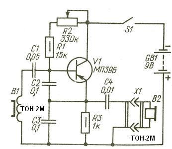 Самодельные металлоискатели, схемы и описания