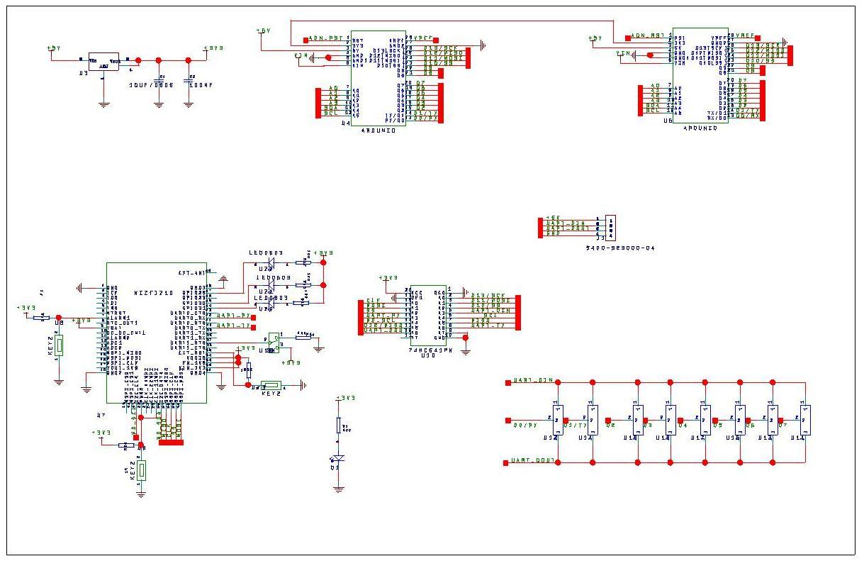 Схема шилда на arduino