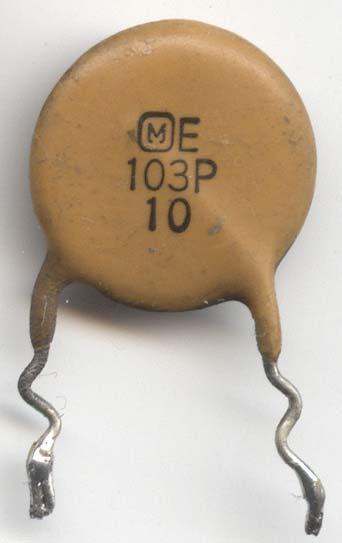 емкость конденсатора маркировка