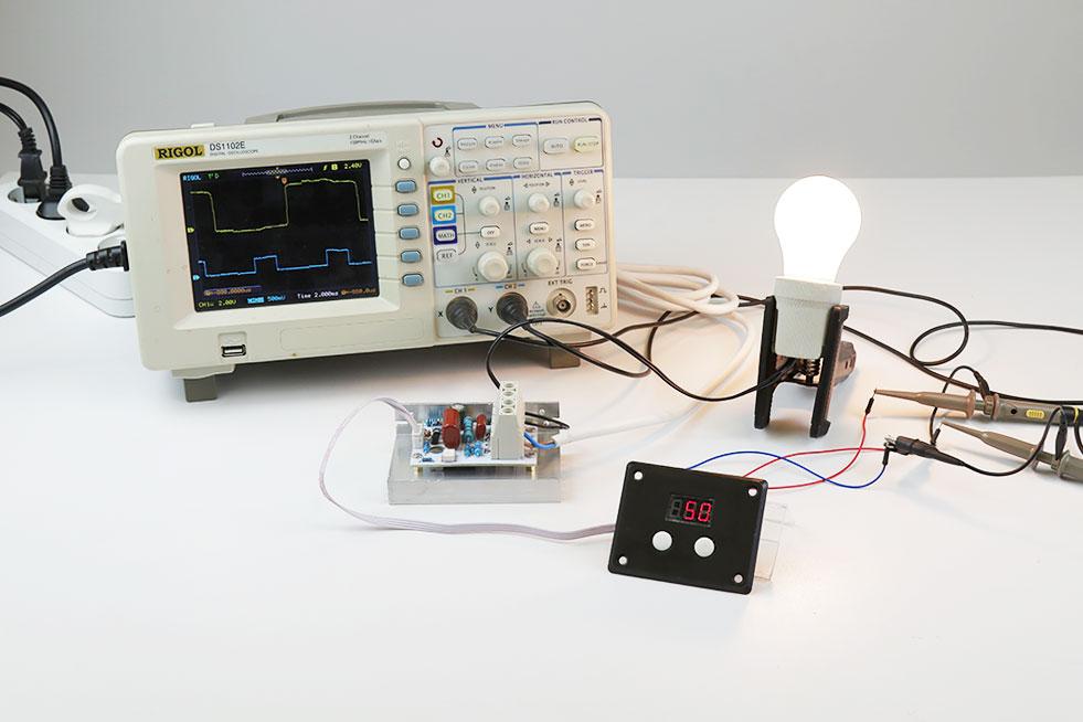 цифровой регулятор мощности MK071M 220В 10 кВт Мастер Кит обзор