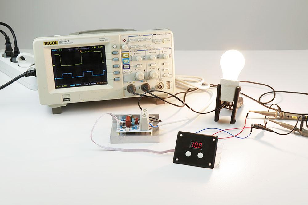 симисторный регулятор мощности MK071M 220В 10КВт Мастер Кит
