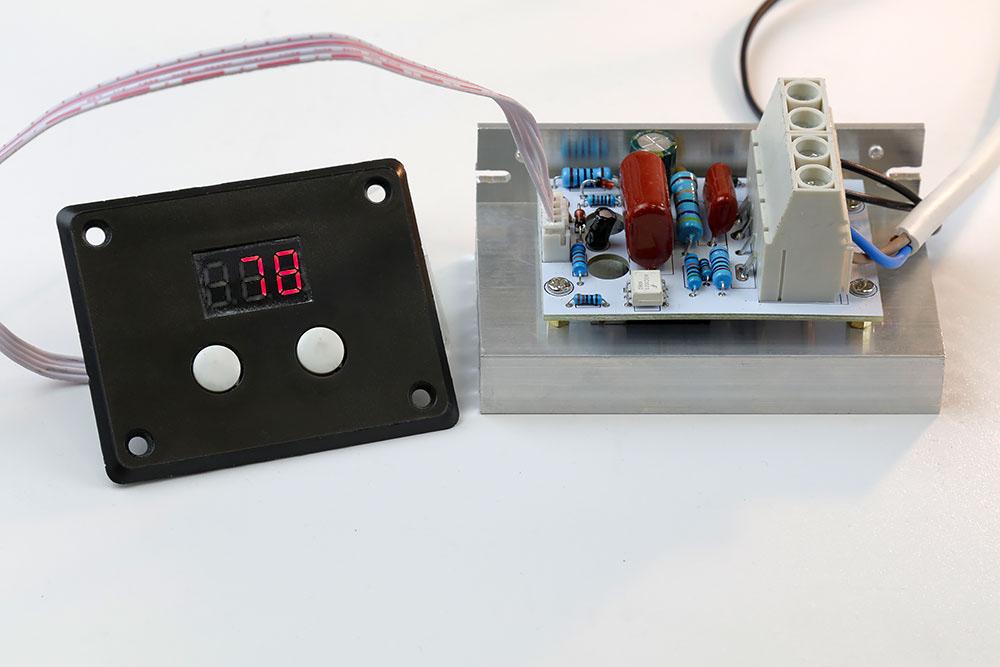 цифровой регулятор мощности MK071M 220В 10 кВт Мастер Кит