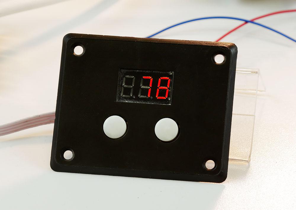 симисторный регулятор мощности MK071M 220В 10 кВт Мастер Кит